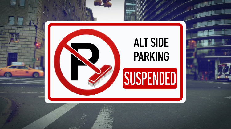 Alternate side parking rules are suspended today and tomorrow for Eid Al-Fitr. Meter rules are still in effect. #nbc4ny