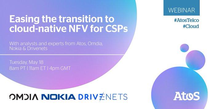 [#Webinar] Únase a este webinar en vivo para aprender cómo se diferencia #cloudnative NFV...