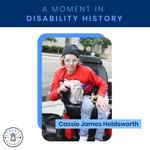 Image for the Tweet beginning: Cassie James Holdsworth, board member