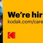 Image for the Tweet beginning: Kodak is looking for a