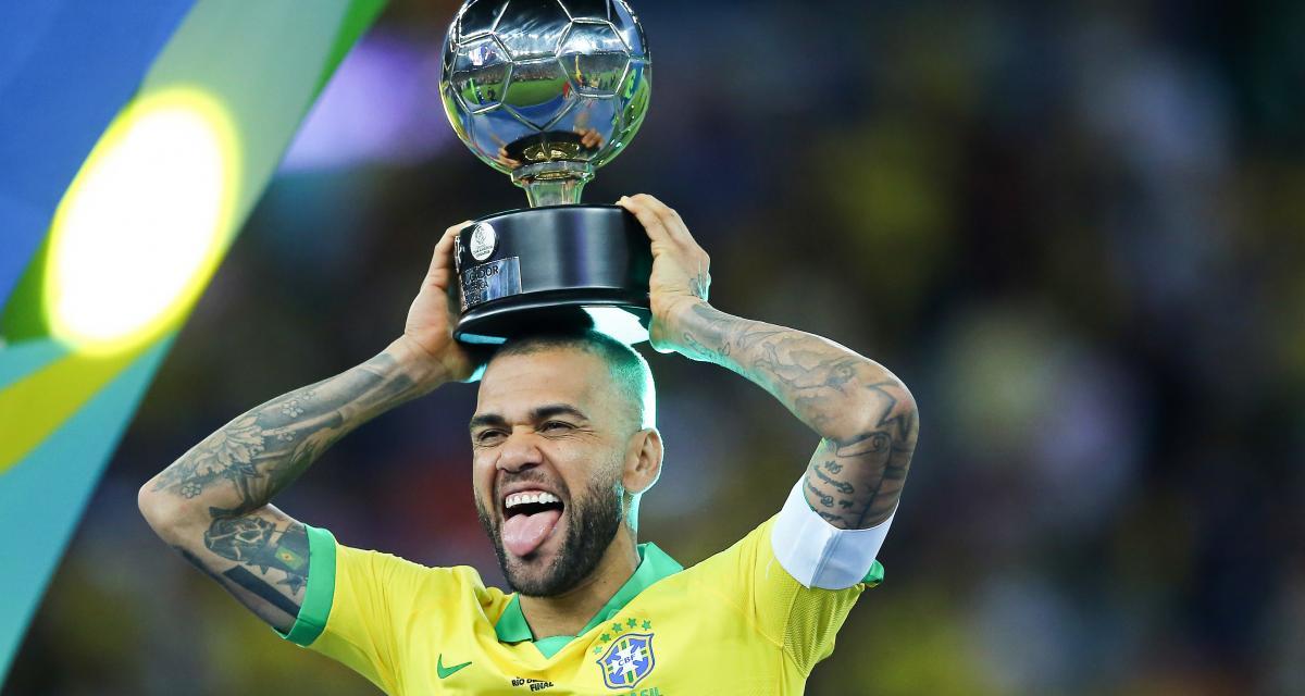 ALVES EARNS BRAZIL RECALL