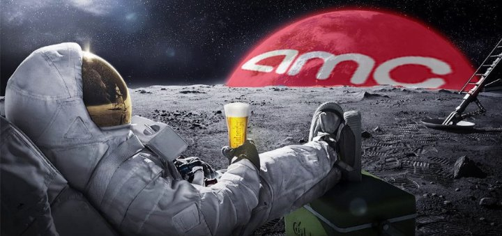 """MonkeyBusiness🐒's tweet - """"A Is for 'Alpha' and 'AMC' 🍌🐒 $AMC APES are showing retail investors that it can be the real meme boss. 🤛💎🤜 The goal is simple, force short sellers"""