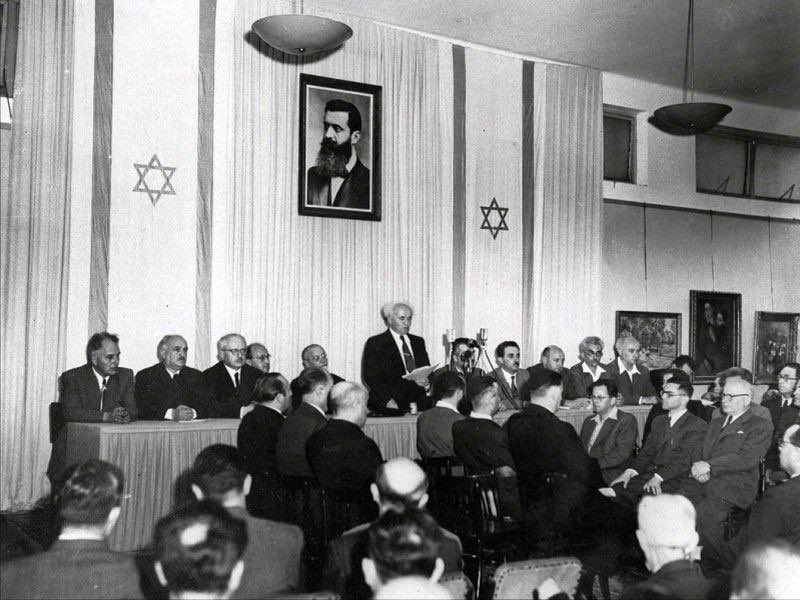 On May 14, 1948  73 years ago  Israel declared independence  and was attacked by 6 foreign armies.  We won that battle.   And we will continue to win. https://t.co/86L7SYw2U6