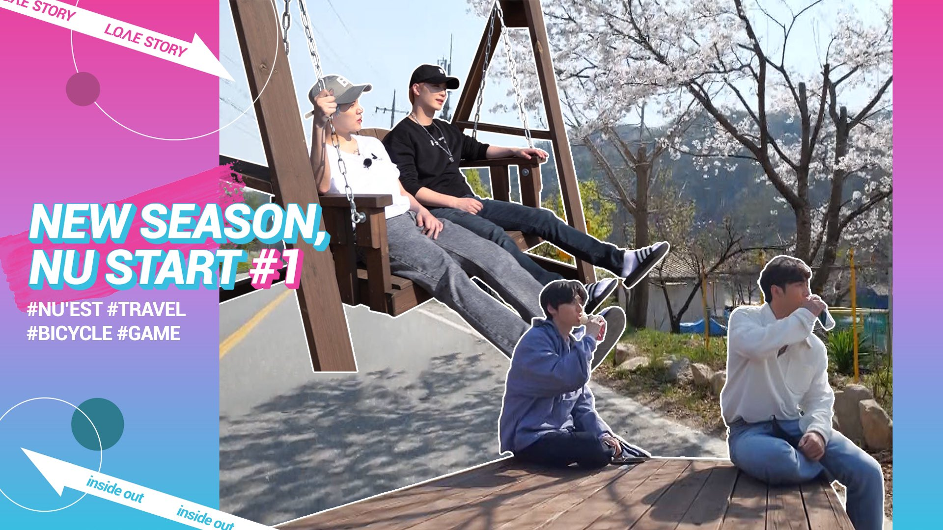 """NU'EST Experiences A Pleasant Healing Trip In First Episode Of """"L.O.Λ.E STORY: INSIDE OUT"""""""