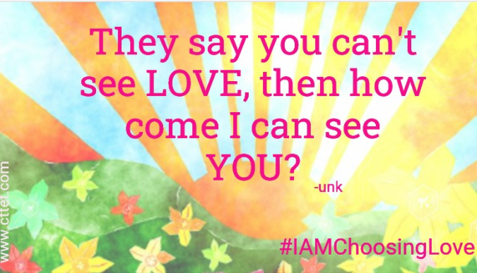 #IAMChoosingLove #joytrain #LUTL