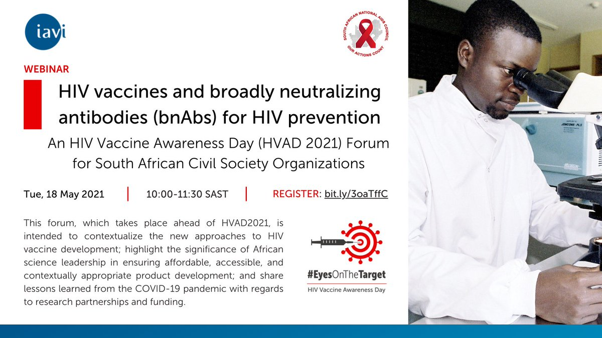 #WorldAIDSVaccineDay Prof. @LindaGailBekker now takes to the podium. Her talk centres around the contribution of SA to the broader #HIV research field, as well as lessons from #COVID19 vaccine research. @IAVI @HIVpxresearch @DTHF_SA