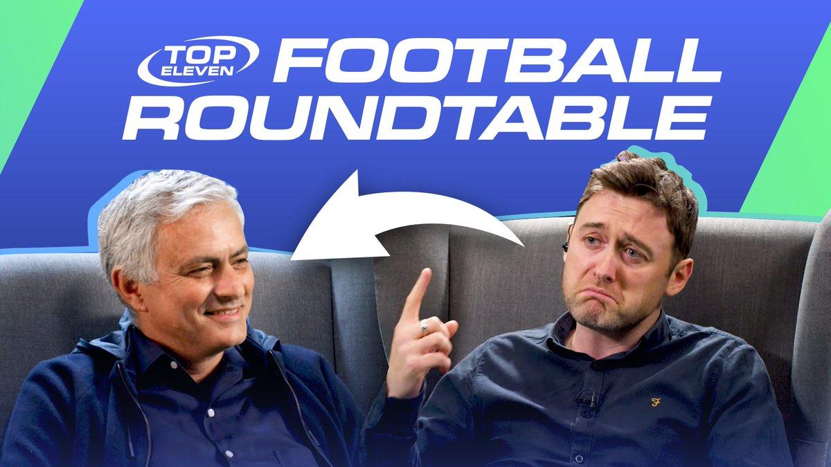 Jose Mourinho meet Jose Mourinho 🤝 @topeleven  https://t.co/xnUQ0JEQ18