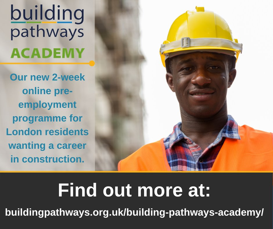 It's not too late to sign up for our Building Pathways Academy! Applications for July are open*!  *Eligibility criteria apply, see link for details @WeAreMcAlpine   https://t.co/BQAYvgNVXP #LoveConstruction #Careers #Training #Online #ConstructionUK  #CV #Mentoring #Employability
