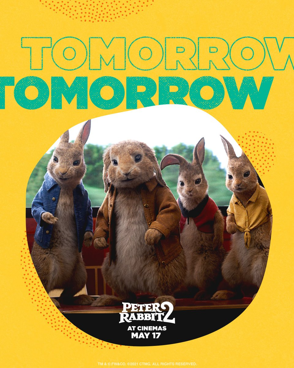 Tomorrow! Peter and his pals return to t