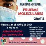 Image for the Tweet beginning: Hoy tenemos Pruebas moleculares GRATIS