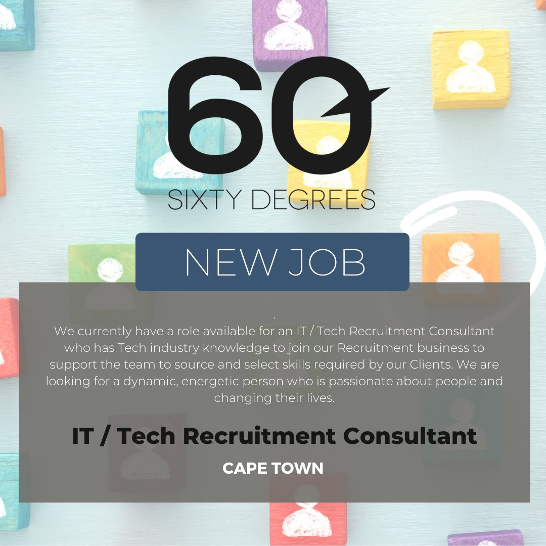 test Twitter Media - New #JobAlert - IT / Tech Recruitment Consultant in Cape Town  For more information & to apply, please click on the link below;  https://t.co/KA39o0ZjT7  #nowhiring #recruitmentjobs #techrecruitment https://t.co/UwRq9j0gnd