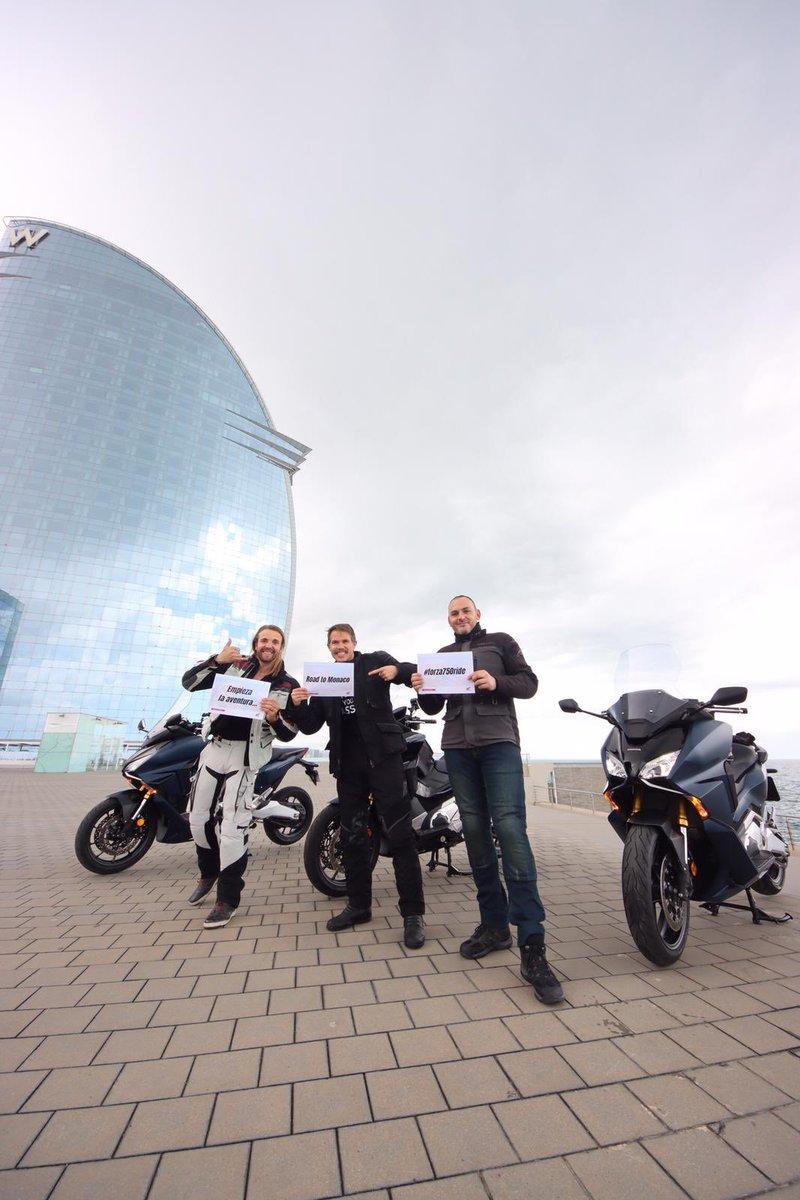 ¡Que disfrutéis del viaje! 👏👏👏 @motociclismo_es @daniclos @chechulazaro Y Jorge  #ElPoderdelosSueños https://t.co/cKX8dS1v7F
