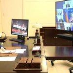 Image for the Tweet beginning: #NovoOgaryovo: Meeting with permanent members