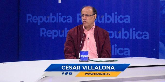 César Villalona: Estamos ante un gobierno ilegal