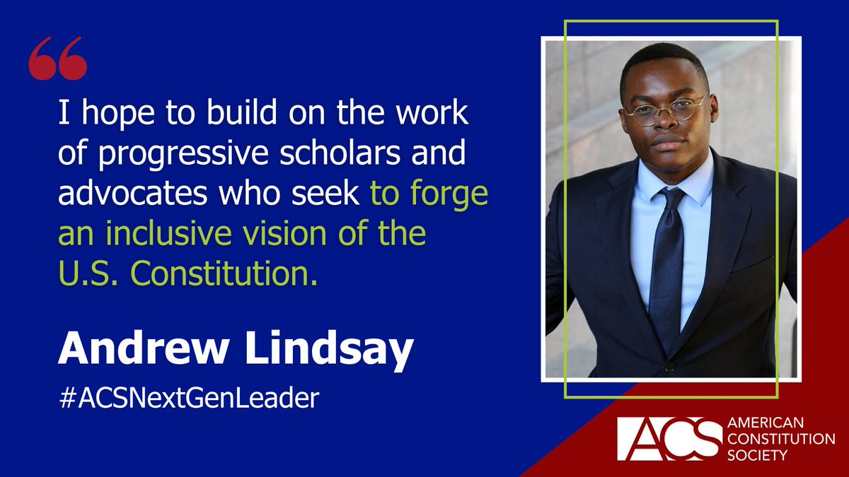 ACS is thrilled to welcome 28 new Next generation Leaders and we're asking our community to share a few words of wisdom with these emerging legal leaders. Share your advice: https://t.co/M7PFsi6yD9 #ACSNextGenLeader https://t.co/HtU5je9ORs