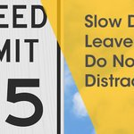 Image for the Tweet beginning: Slow Down!!! The speed limit