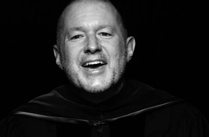 Watch Apple's ex design guru Jony Ive deliver a moving commencement speech at CCA