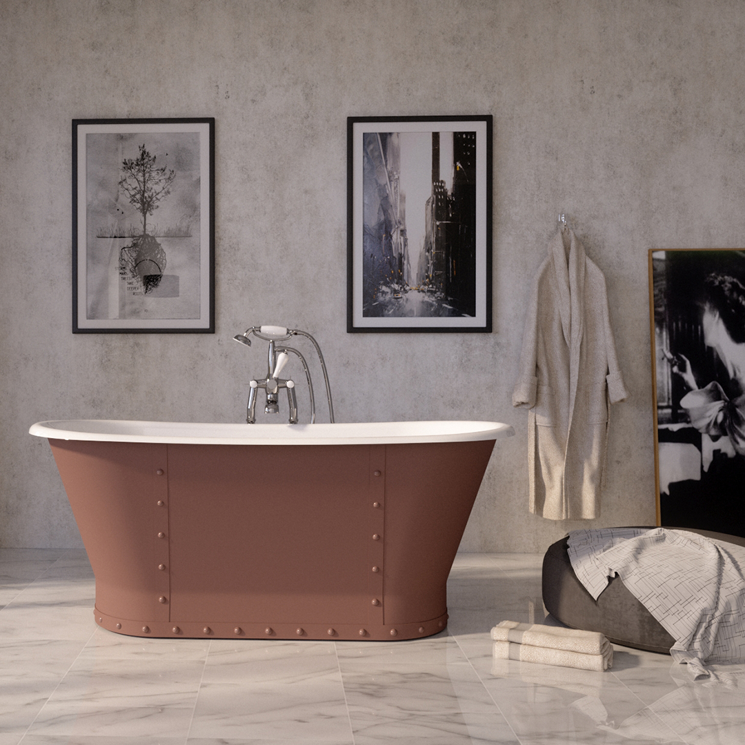 View our Full Range of Cast Iron Baths: hurlinghambaths.co.uk/baths/cast-iro… All our Cast Iron Baths are Available in OVER 10,000 Painted Colours - With Colour Match Service. We Offer FREE Delivery To UK Mainland (Excludes Scotland) and a 5 Year Guarantee! #baths #castironbaths