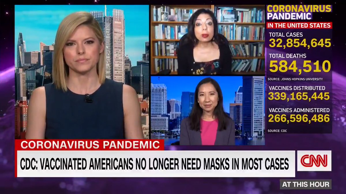 -Why would I unmask indoors if I don't know if others are vaccinated? -How should schools handle updated mask guidance?  Dr. Monica Gandhi and Dr. Leana Wen give their differing viewpoints and answer questions on the CDC's mask recommendations.