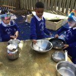 Image for the Tweet beginning: EYFS have been enjoying their