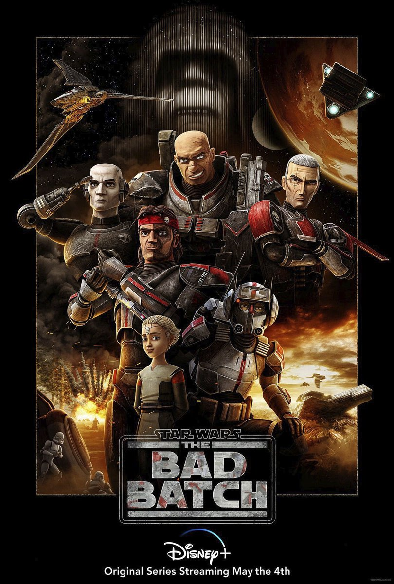 Star Wars The Bad Batch #StarWars #StarWarsDay #StarWarsTheBadBatch #TheBadBatch Season 1 Episode 3 'Replacements' Starring @deebradleybaker as all the Clones, etc. On @disneyplus.