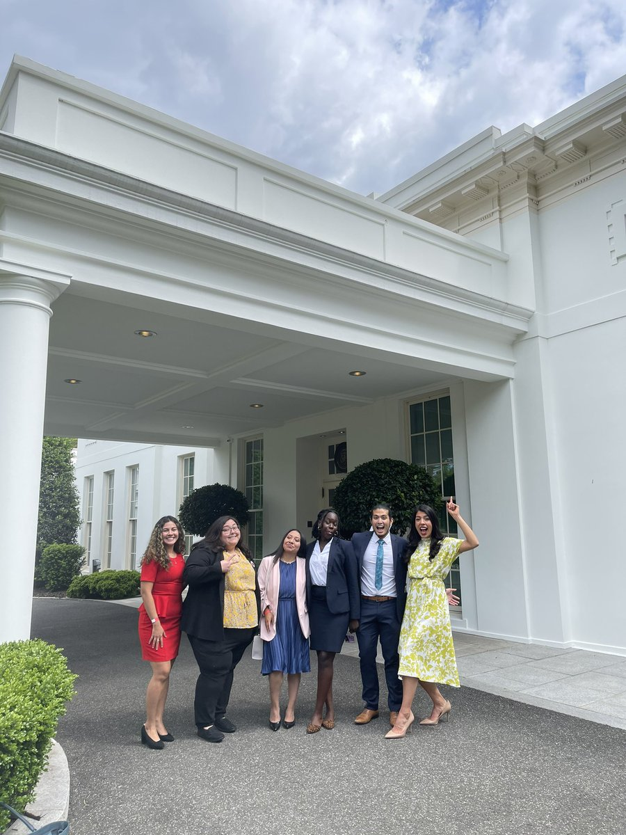 Six undocumented Americans about to go into the West Wing to meet with @POTUS #wearehome https://t.co/pdY2LVk8IU