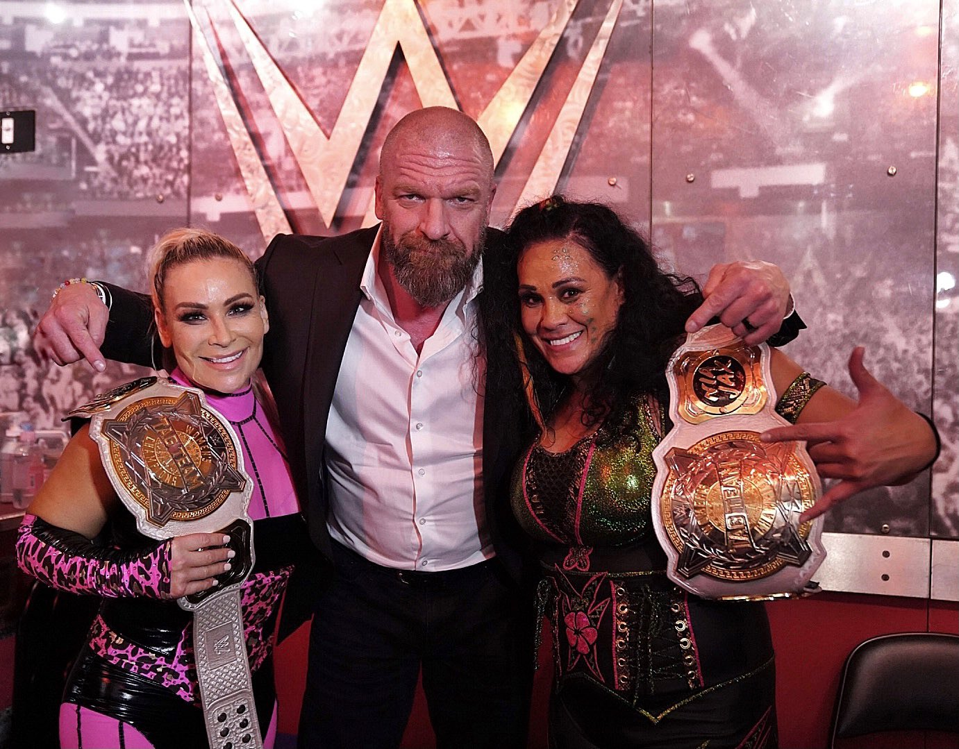 Natalya And Tamina Snuka Become New WWE Women's Tag Champs On Smackdown 32