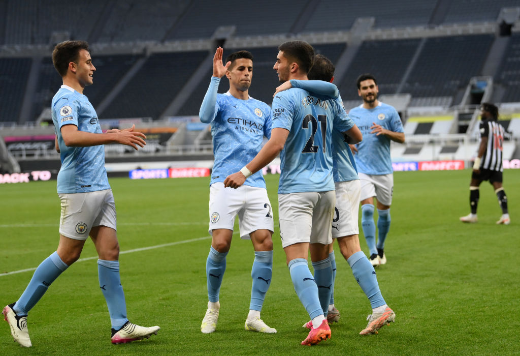 CITY CELEBRATES TITLE WIN WITH VICTORY