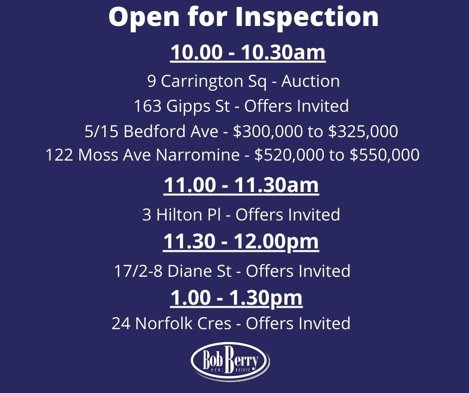 It's a busy Saturday with 7 properties open!  🏠😎 https://t.co/5BRPjwEJCL