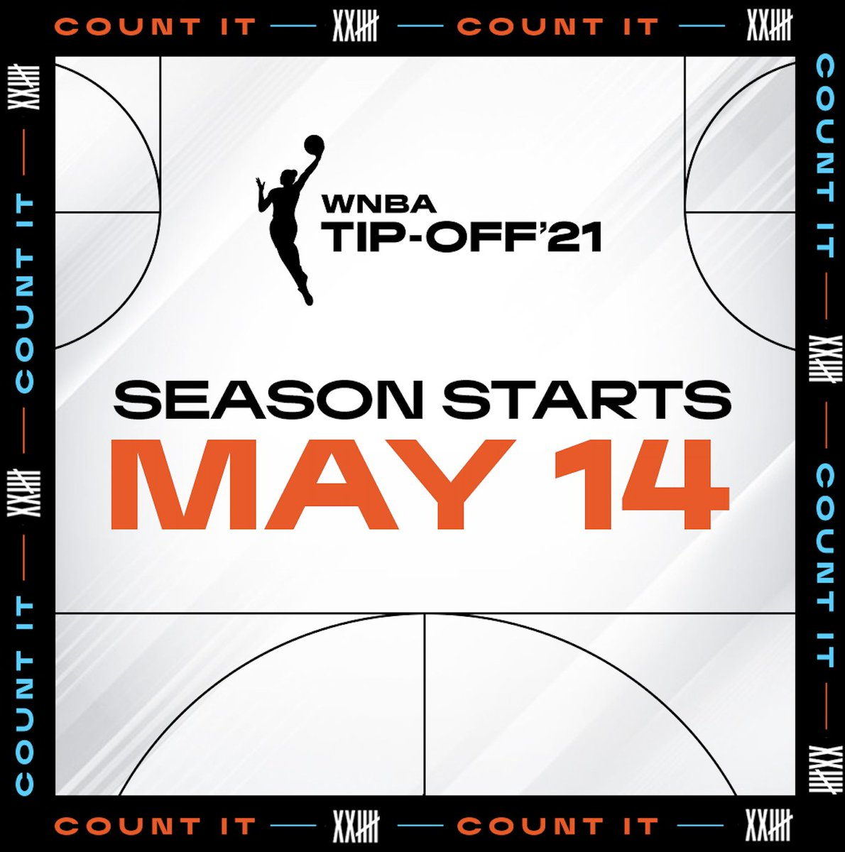 As the health care partner to the @WNBA, we are excited to continue our work together to make an impact in our communities. Make sure to tune in tonight to help us tip off their 25th season! #CountIt #WNBATipOff https://t.co/X4Q5qBMFr9