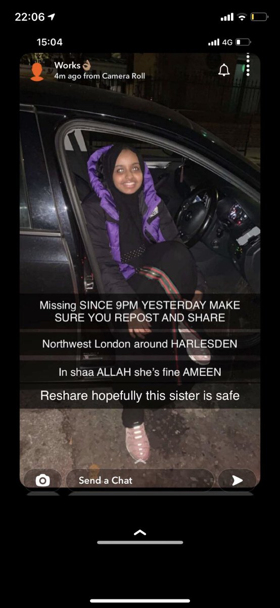 Spread the news, let's find the girl. https://t.co/ftN8TmCxu2