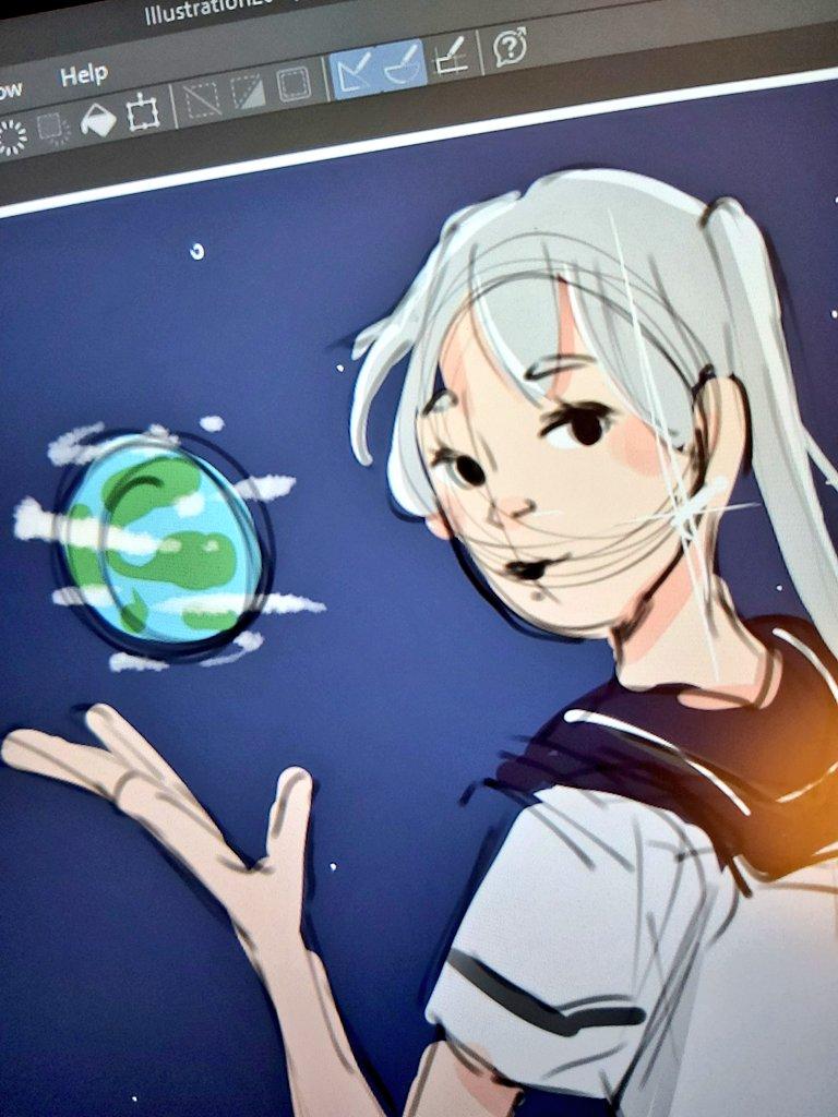 Wip! #space #drawing