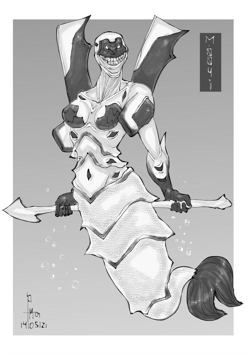Series month : mer-va 004-1!  #mermay #mermay2021 #neongenesisevangelion #estudionumen #desenho #draw #drawing #ilustração #illustration #anime #manga #japan #nippon #japao