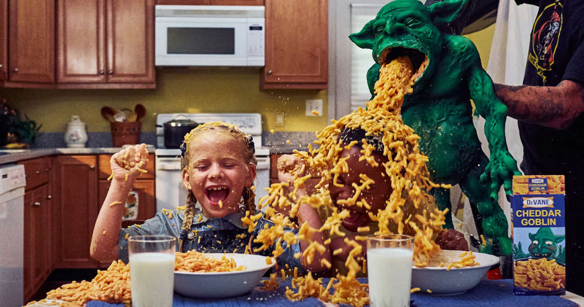 Gonna cook something #TheLastDriveIn-themed for dinner tonight for return of @kinky_horror & @therealjoebob.  #CheddarGoblin #MacNCheese