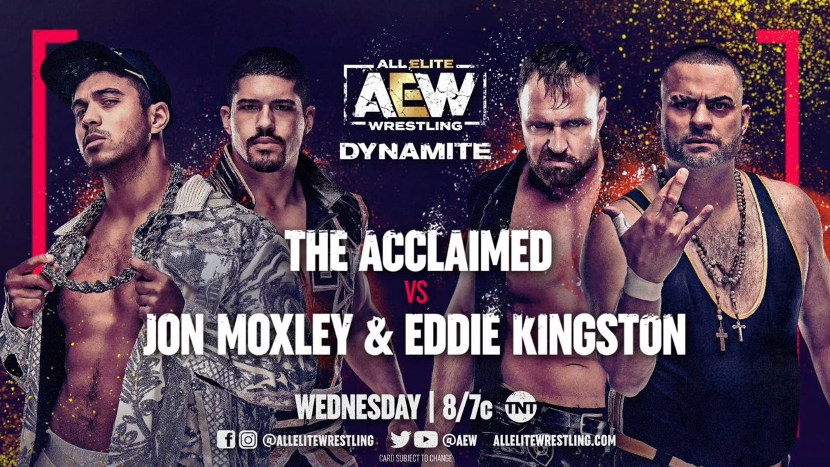 AEW Announces Jon Moxley And Eddie Kingston In Action On Next Week's Dynamite