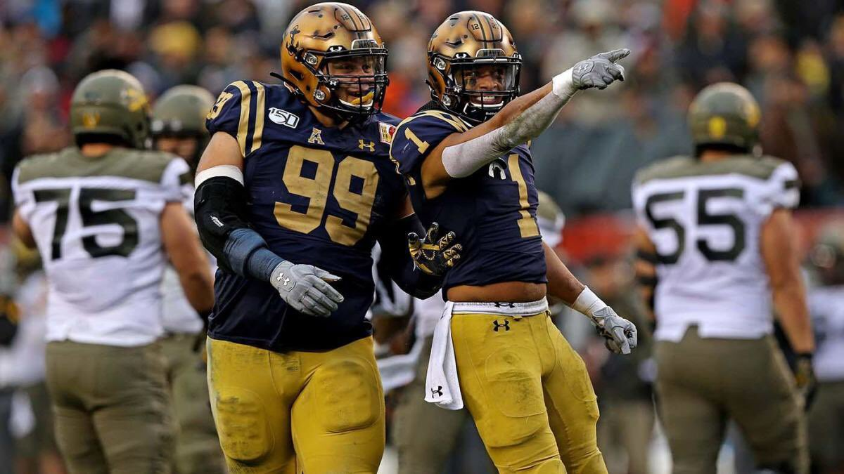 Blessed and thankful to receive a offer from The U.S Naval Academy ! #GoNavy ⚓️ https://t.co/Uj8xTDQqmf