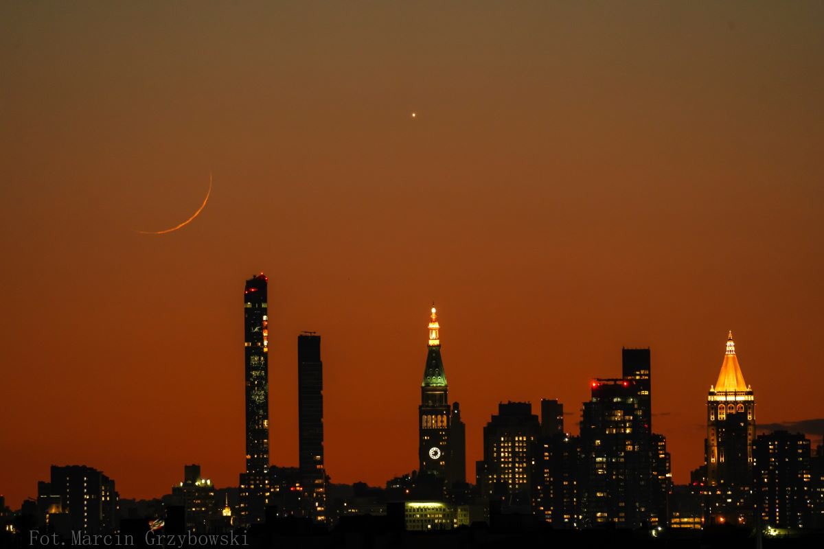 #lunaenpiscis #newyorkcity #moon