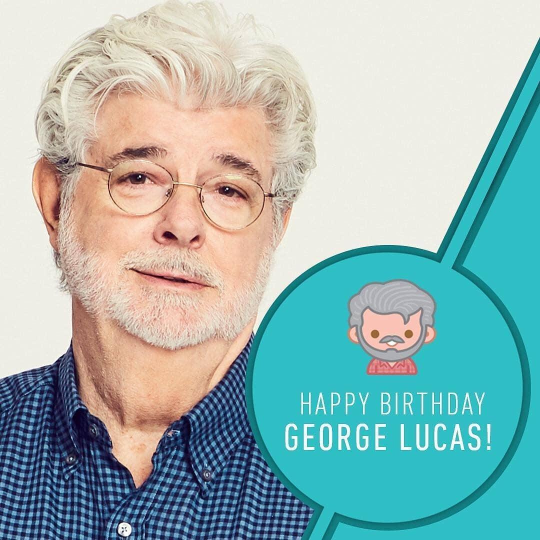 Este viernes #14DeMayo2021, el productor cinematográfico George Lucas cumple 77 años de edad. Lucas es más conocido por crear las franquicias de Star Wars e Indiana Jones y fundar Lucasfilm, LucasArts e Industrial Light & Magic.   #GeorgeLucas #StarWars #MayThe4thBeWithYou