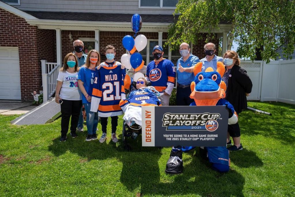 New York #Islanders: A special day with ...      #EasternConference #EasternConferenceMetropolitan #EasternConferenceMetropolitanDivision #Metropolitan #MetropolitanDivision #NewYork #NewYorkCity #NewYorkIslanders #NewYork #NewYorkIslanders #NHLEastern