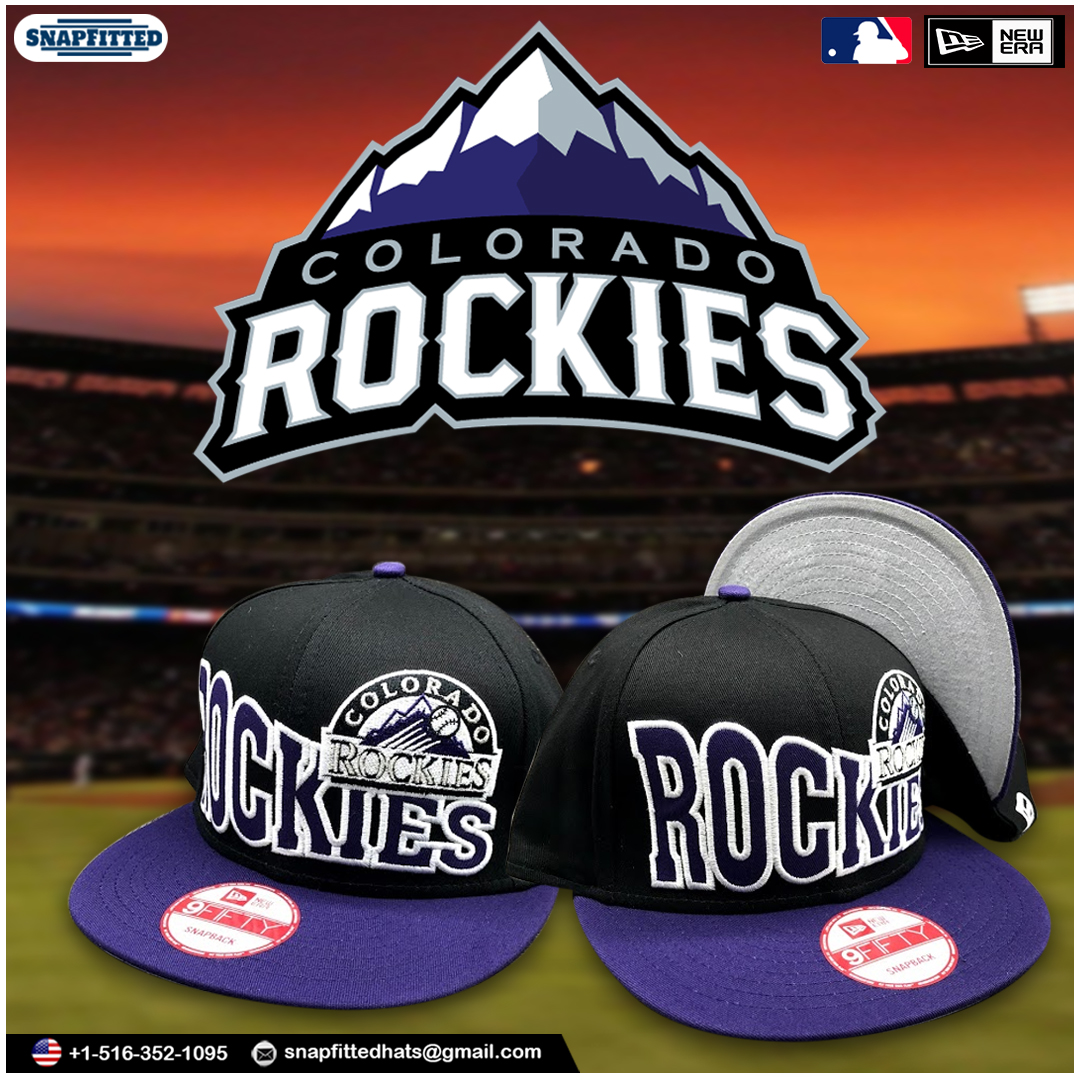 """Get the Freshest Hat Collection of New Era- """"COLORADO ROCKIES"""". Shop Now. #newera #neweracap #fitted #mlb #cap #teamfitted #snapback #baseball #fittednation #neweracaps #hat #newerafitted  #fittedcap #hats #caps #hatclub #capcollector #fittedhats #nfl #ny #newyork #love #bhfyp"""