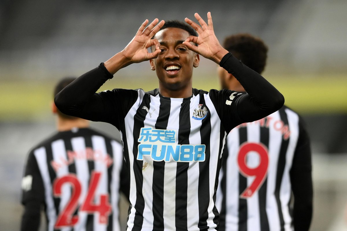NEWCASTLE STILL HOPEFUL OF SIGNING ARSENAL YOUNGSTER