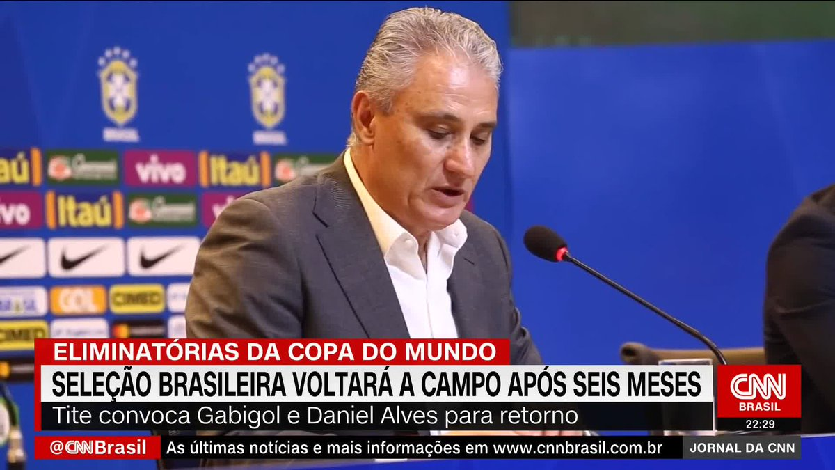 Seleção Brasileira voltará a campo após seis meses https://t.co/RJHdZu1yeG