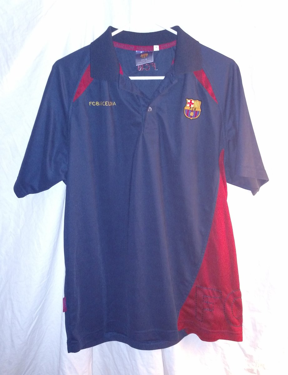 RT @EbayBoostNow: FC Barcelona FCB Mens Polo Shirt Size Large Blue Red Football Soccer - RT  https://t.co/TEdSXEqGVD https://t.co/uO2umAYPh1