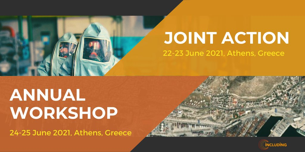 Interested to join the #CBRN multidisciplinary field exercise ☢️? Would you like to learn more about emergency response plans, policies and procedures in crisis situations?  Register to our upcoming events ➡️https://t.co/WW0uzKArTm  #jointaction https://t.co/cXLlfwwpQy