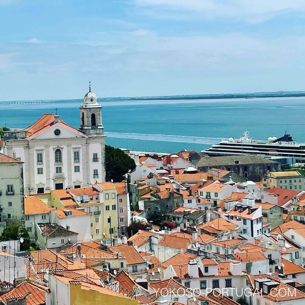 test ツイッターメディア - リスボン、サンタ・ルジア展望台からの眺めです。 #リスボン #ポルトガル https://t.co/TvHV5kHD07