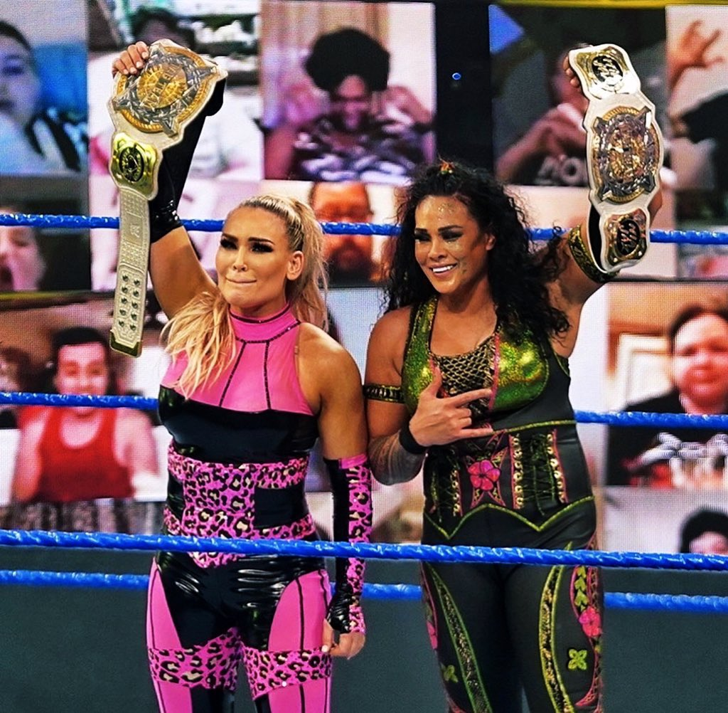 Wrestling World Reacts To Tamina's Big Win On WWE SmackDown
