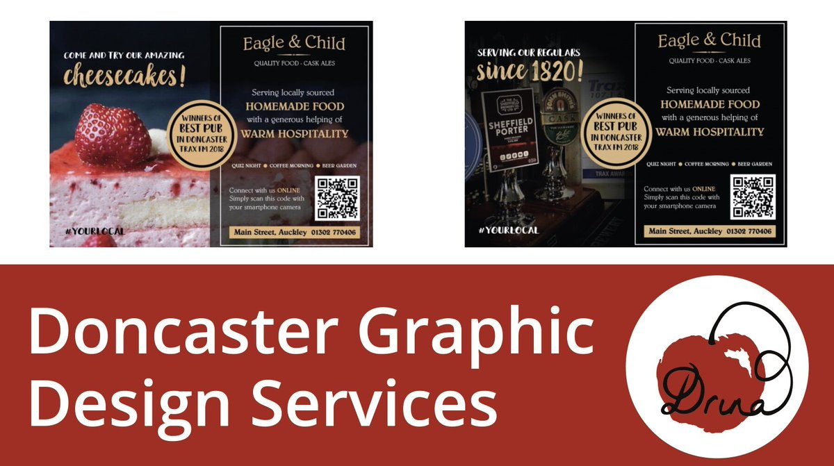 Are you searching for an affordable graphic designer based in South Yorkshire? If you need professional, affordable pub menu design, then please don't hesitate to contact me, i'd love to provide more info :) https://t.co/r6dvVrCokw  #doncaster #webdesign