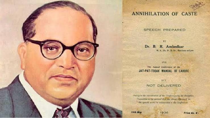 Dr. Baba Saheb Ambedkar's Book 'Annihilation Of Caste' Published on this day, in 1936.  #AnnihilationOfCaste #CasteintheUS #BabaSahebAmbedkar https://t.co/isbM2EBJxd