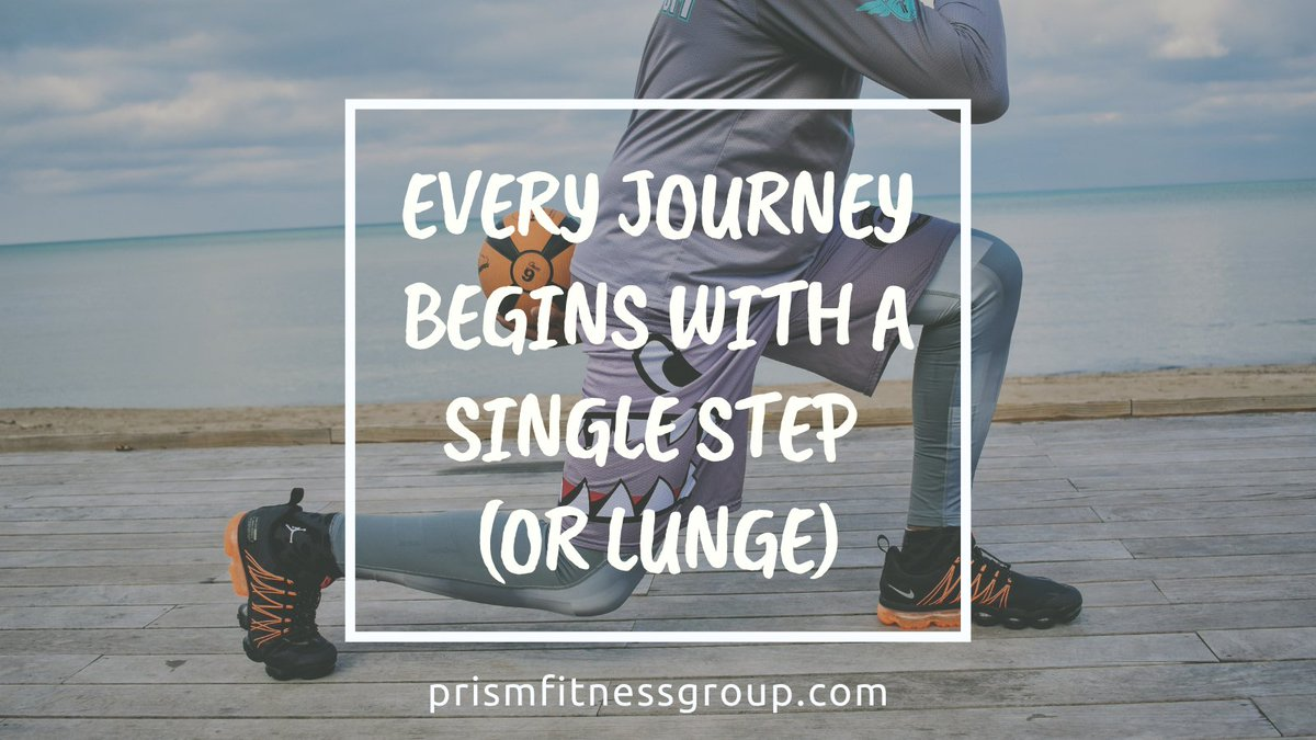 Every Journey begins with a single step (or lunge)!  📷: @topflightone  #mondaymotivation #mondaymotivationquote #fitnessmotivations #fitnessmotivationdaily  #mentalconditioning #progressoverperfection #mindsetiskey #flexibleapproach #commitment #committedtoyourdecision https://t.co/gTzK3tzumz
