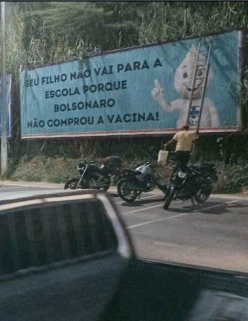 @jairbolsonaro  #BolsonaroPresidenteAte2026 (Deus me livre) #BolsonaroGenocida #genocida #elenao #FechadoComBolsonaro (pro inferno) #PazuelloCovarde #PazuelloCagao @PazuelloPreso @FlavioBolsonaro https://t.co/eVwHma8Zq7